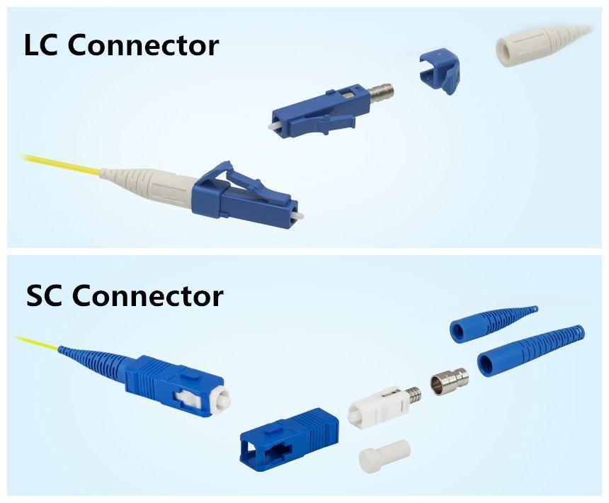 LC konektörü vs. SC konektörü